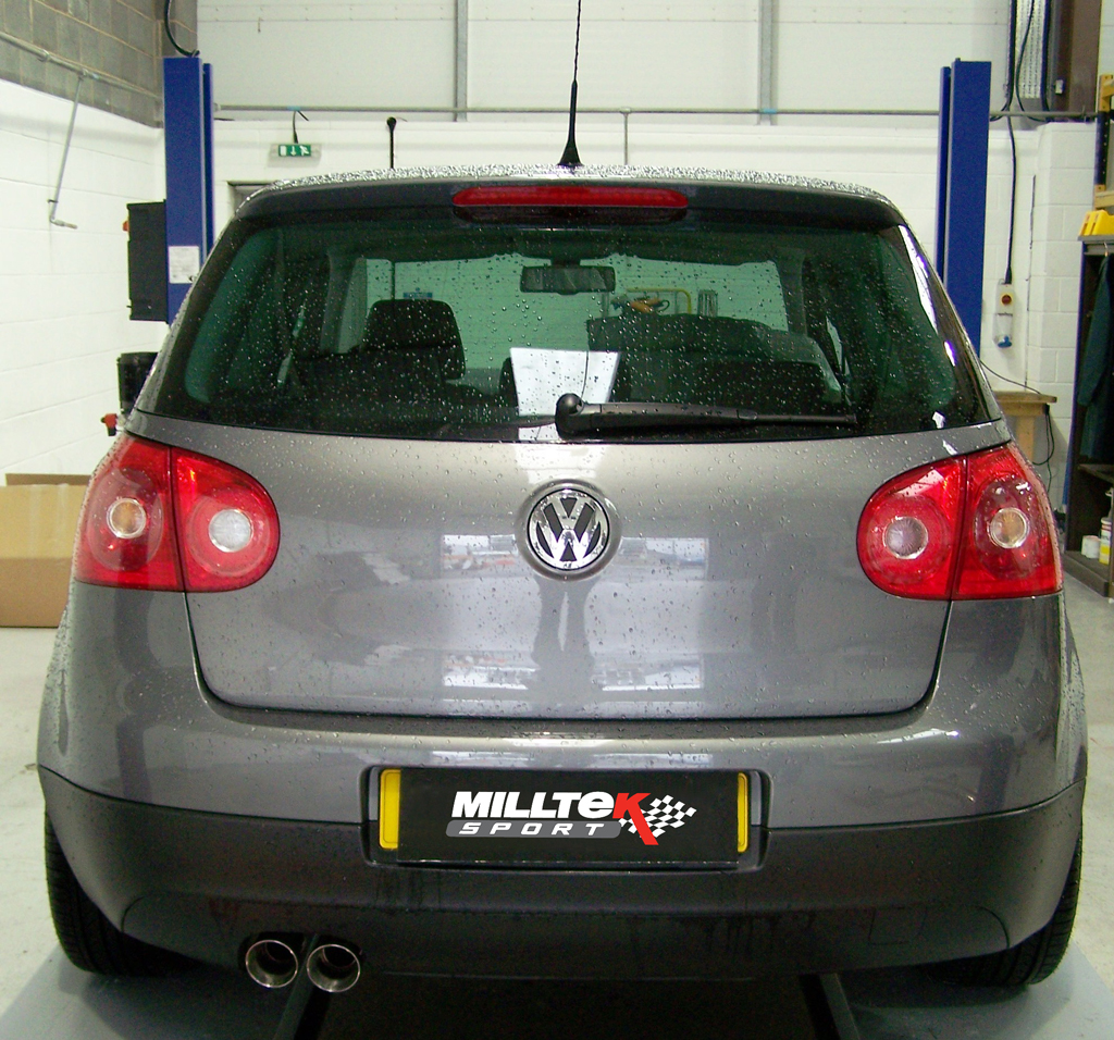 Milltek Sport Cat-back - VW Golf Mk5 GT 2 0 TDI DPF [SSXVW295]