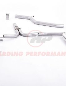 Milltek Sport Cat-back - Audi A4 2.0 TDi B8 (S line models only), Dual Outlet, Requires A4 3.2 S line rear valance [SSXAU298]