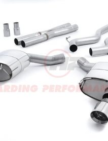 Milltek Sport Cat-back - Ford Mustang V8 GT - Dual Outlet Non Res (Louder) with Polished GT-100 Tips [SSXFD154]