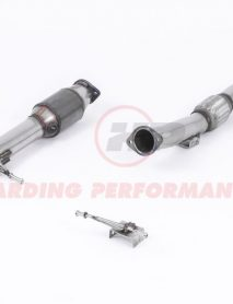 "Milltek Sport Catted Downpipe - Ford Focus XR5 Turbo, suits 3"" Cat Back Systems Only [SSXFD164]"