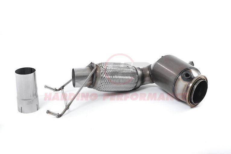 Milltek Sport Catted Downpipe - Mini (F56) Cooper, suits OEM cat-back exhaust [SSXM421]