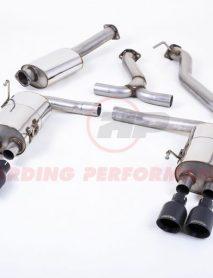 Milltek Sport Cat-back - Subaru Impreza WRX STi, EC-Approved, Cerakote Black GT-100 Tips [SSXSB49]