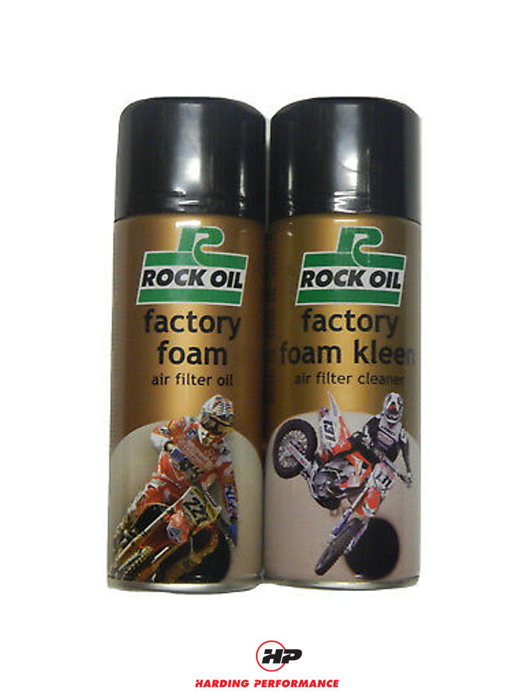 Rock Oil Air Filter Cleaning Kit for Racingline & ITG Filters