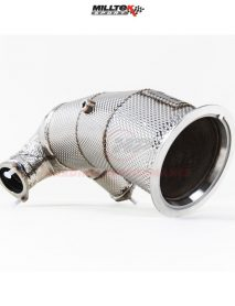 Milltek Sport HJS Tuning ECE Downpipes - S4 B9 (Non Sport Diff Cars), Fits, OE and Milltek Sport Systems (EC Approved) [SSXAU725]