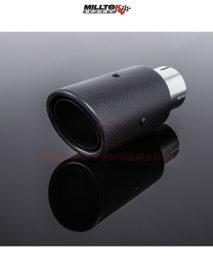 Milltek Sport Tips - Carbon Fibre, [SSXMKT118]